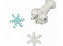 "PME ""Snowflake Plunger Small Cutter"" - ΚΟΥΠΑΤ ΣΦΡΑΓΙΔΑ ΧΙΟΝΟΝΙΦΑΔΑ 30mm (κωδ. 0707)"