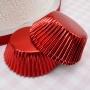 ", PME ""Metallic Red Standard Baking cups"" - ΘΗΚΕΣ ΨΗΣΙΜΑΤΟΣ FOIL ΚΟΚΚΙΝΕΣ 50mm σετ 30 (κωδ. 0756)"