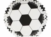 "PME ""Football Foil Baking Cups"" - ΘΗΚΕΣ ΨΗΣΙΜΑΤΟΣ 50mm FOIL ΜΠΑΛΑ σετ 30 (κωδ. CD0829)"