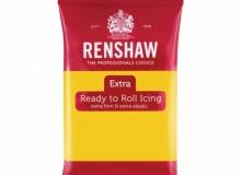 "Renshaw - ΖΑΧΑΡΟΠΑΣΤΑ EXTRA 250gr ΚΙΤΡΙΝΗ - ""Ready to Roll Icing EXTRA Yellow"" (κωδ. 1313)"
