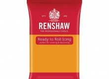 "Renshaw - ΖΑΧΑΡΟΠΑΣΤΑ PRO 250gr ΧΡΥΣΟ ΜΑΤ - ""AUTUMN GOLD Ready to Roll Icing"" (κωδ. 1339)"