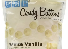 "PME ""Candy Buttons - White Vanilla"" - ΛΕΥΚΟ VANILLA 340gr (κωδ. CD1345)"