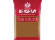 "Renshaw - ΖΑΧΑΡΟΠΑΣΤΑ PRO 250gr ΚΑΦΕ ΑΝΟΙΧΤΟ - ""TEDDY BEAR BROWN Ready to Roll Icing"" (κωδ. 1345)"