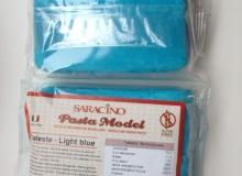 "Saracino ""Pasta Model LIGHT BLUE"" - ΖΑΧΑΡΟΠΑΣΤΑ ΓΙΑ ΛΟΥΛΟΥΔΙΑ & ΦΙΓΟΥΡΕΣ ΓΑΛΑΖΙΑ 250gr (κωδ. 1536)"