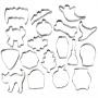 ". Wilton ""18-Piece Halloween Cookie Cutter Set"" - ΚΟΥΠΑΤ 76mm ΑΠΟΚΡΙΑΤΙΚΑ σετ 18 (κωδ. 1573)"