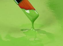 "Rainbow Dust ""Edible food paint Paint it SPRING GREEN"" - ΧΡΩΜΑ ΠΑΣΤΑ ΖΩΓΡΑΦΙΚΗΣ ΠΡΑΣΙΝΟ 25ml (κωδ. 1856)"