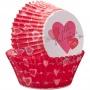 "! Wilton ""Hearts with Arrow Baking Cups"" - ΘΗΚΕΣ ΨΗΣΙΜΑΤΟΣ ΚΑΡΔΙΑ ΜΕ ΒΕΛΟΣ 50mm σετ 75 (κωδ. 1928)"