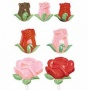 "Wilton ""Roses & Buds Lollipop Mold"" - ΚΑΛΟΥΠΙ CANDY-LOLLI 9 ΤΡΙΑΝΤ. & ΜΠΟΥΜΠΟΥΚΙΑ (κωδ. 3006)"