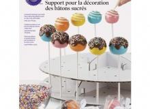 "Wilton ""Pops Decorating Stand"" - ΣΤΑΝΤ ΓΙΑ CAKE POPS ΧΑΡΤΙΝΟ 2ΟΡΟΦΟ ΛΕΥΚΟ (κωδ. 3061)"