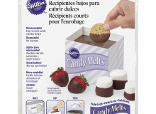 """Wilton """"Short Dipping Containers"""" - ΧΑΡΤΙΝΑ ΔΟΧΕΙΑ ΓΙΑ CANDY MELTS σετ 3 (κωδ. 4100)"""