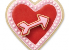 ". Wilton ""Heart & ArrowComfort Grip Cutter"" - ΚΟΥΠΑΤ ΜΕΤΑΛΛΙΚΟ ΚΑΡΔΙΑ & ΒΕΛΟΣ GRIP (κωδ. 4453)"