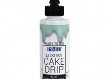 "PME ""Cake Drip Blue with White Chocolate Flavour"" - CAKE DRIP ΓΑΛΑΖΙΟ ΜΕ ΓΕΥΣΗ ΛΕΥΚΗ ΣΟΚΟΛΑΤΑ 150gr (κωδ. 7034)"