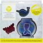 ". Wilton ""Sea cookie decorating kit"" - ΣΕΤ ΔΙΑΚΟΣΜΗΣΗΣ ΘΑΛΑΣΣΙΝΑ (κωδ. 7303)"