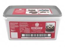 "Renshaw - ""Chocolate Flavour Frosting"" - ΕΤΟΙΜΟ ΓΛΑΣΟ ΣΟΚΟΛΑΤΑ ΓΙΑ ΕΠΙΚΑΛΥΨΗ 3Kg (κωδ. 247311)"