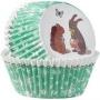 ". Wilton ""Easter Baking Cups"" - ΘΗΚΕΣ ΨΗΣΙΜΑΤΟΣ 50mm ΠΑΣΧΑΛΙΝΑ ΖΩΑΚΙΑ σετ 75 (κωδ. 8118)"