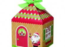 "Wilton ""Sweet Holidays Cookie Boxes"" - ΚΟΥΤΑΚΙΑ ΓΛΥΚΩΝ ΑΓ. ΒΑΣΙΛΗΣ σετ 4 (κωδ. 9057)"