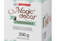 ". Pavoni ""Magic decor L' Originale 250gr"" - ΣΚΟΝΗ ΔΑΝΤΕΛΑΣ ΛΕΥΚΟ 250gr (κωδ. CD4698)"