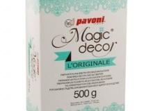 ". Pavoni ""Magic decor L' Originale 500gr"" - ΣΚΟΝΗ ΔΑΝΤΕΛΑΣ ΛΕΥΚΟ 500gr (κωδ. CD4697)"