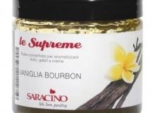 ". Saracino ""le Supreme VANIGLIA BOURBON"" - ΣΥΜΠΥΚΝΩΜΕΝΗ ΑΡΩΜΑΤΙΚΗ ΠΑΣΤΑ ΒΑΝΙΛΙΑ ΜΠΕΡΜΠΟΝ 200gr (κωδ. CD6405)"