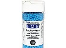 "PME ""Sugar Pearls - BLUE"" - ΖΑΧΑΡΩΤΕΣ ΠΕΡΛΕΣ 3mm ΜΠΛΕ 100gr (κωδ. CD0940)"