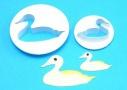 "PME ""Duck cutter Set 2"" - ΚΟΥΠΑΤ ΠΛΑΣΤΙΚΟ ΠΑΠΙΑ ΣΕΤ 2 (κωδ. 0494)"